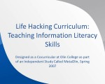 Life Hacking Curriculum
